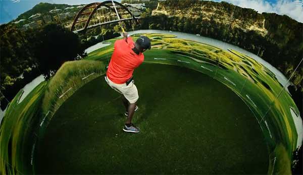 Dell 360 Golf Swing